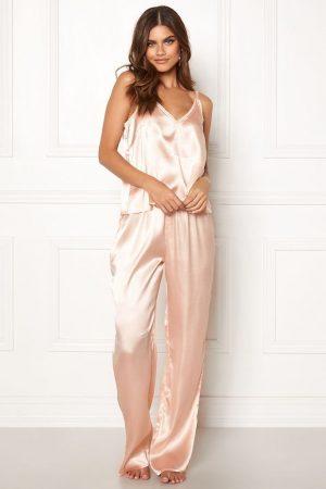 Pyjamaslinne i satin för dam
