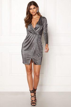 Silver festklänning