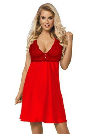 Röd nattklänning