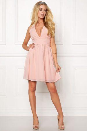 Ljusrosa festklänning