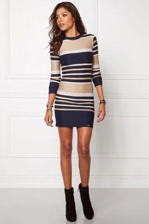 Randig klänning