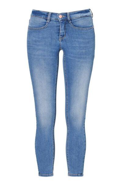 Superstretchiga Jeans ljusblå