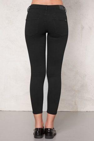 Superstretch Jeans Svart