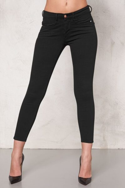 Superstretch Jeans Svart