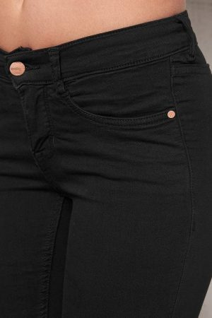 Superstretch Jeans Svart TopLady