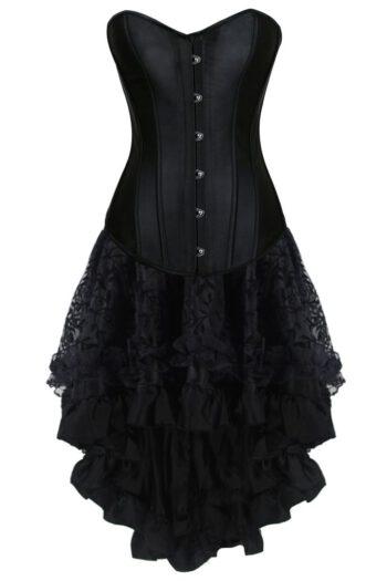 Vintage Korsettklänning metallskenor