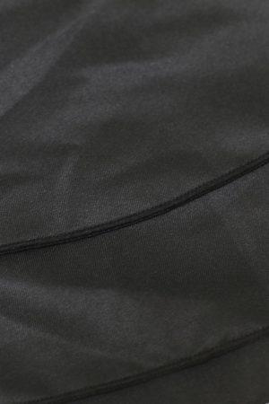 Lång svart kjol Vintage Steampunk