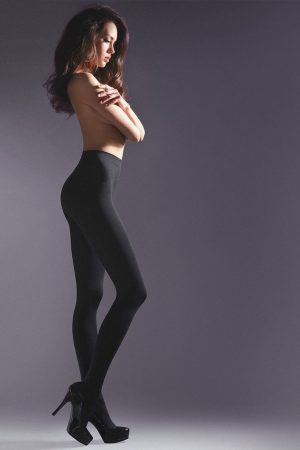 Microfibre tights 100 DEN black