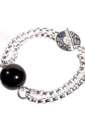 Armband i pläterad silver
