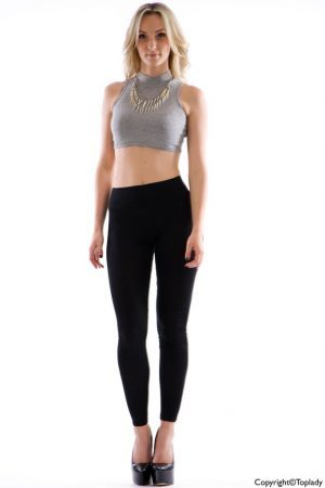Matta svarta leggings
