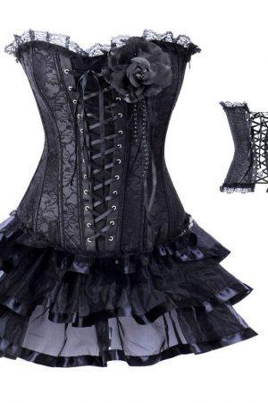 Mini Clubwear | Korsett och volangkjol