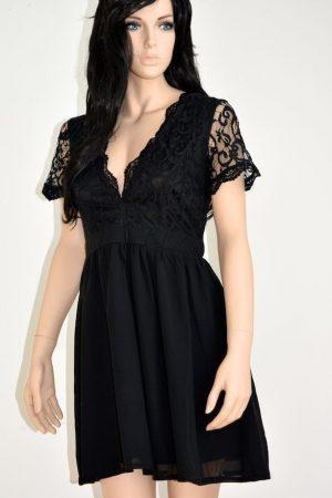 Chiffong klänning kort