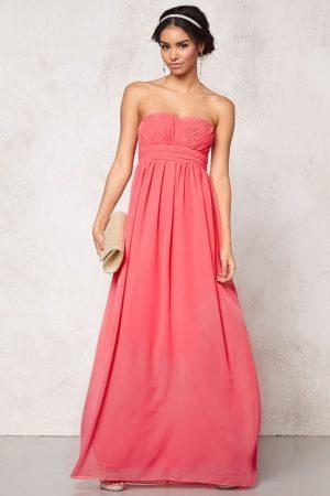 Lång klänning Chiffong