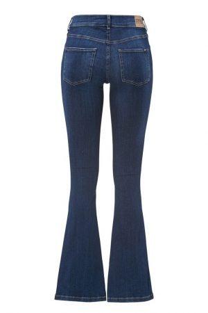 Superstretchiga jeans Blå