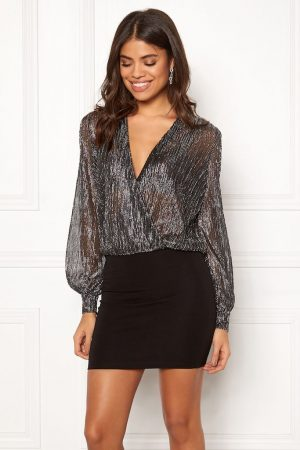 Silver klänning
