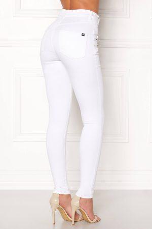 Snygga vita jeans