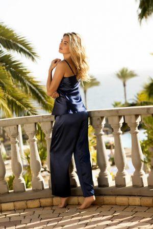 Köp Marinblått pyjamas set - TopLady