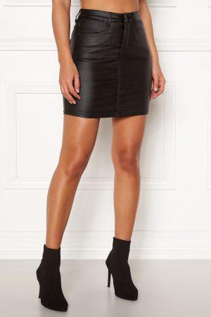 Kort svart kjol - TopLady