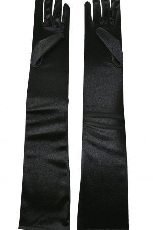 Svarta sexiga och långa handskar dam - TopLady