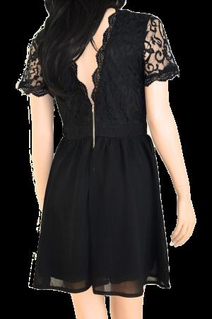 toplady.se svart klänning i spets