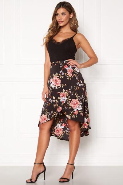 Blommig kjol - TopLady