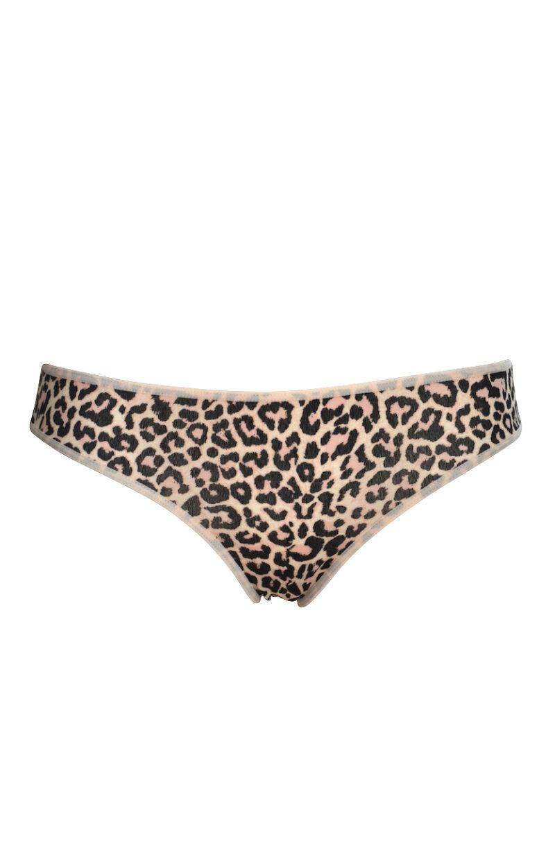 Leopardmönstrad bomullstrosa - TopLady