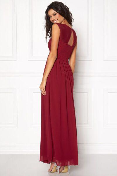 Vinröd festklänning lång - TopLady
