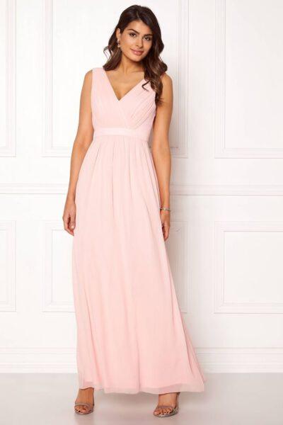 Ljusrosa balklänning